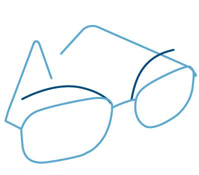 Ptosis Brille